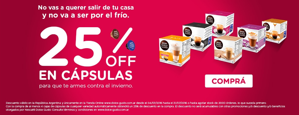 Descuento Dolce Gusto