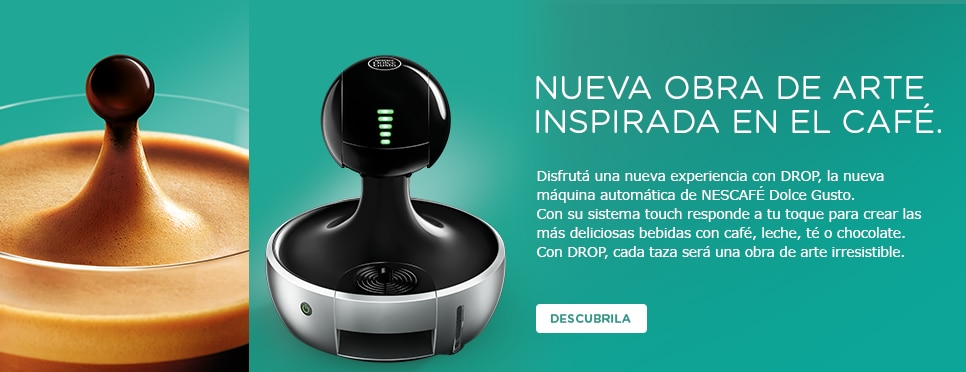Cafetera Drop Dolce Gusto